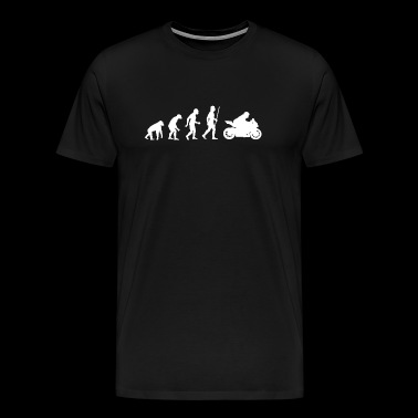 Motorbike - Evolution of Motorbikes - Men's Premium T-Shirt