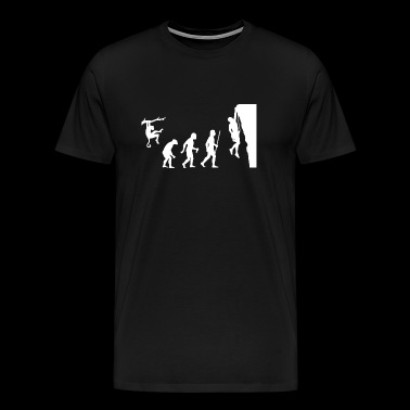 Climbing - Evolution Rock Climbing - Men's Premium T-Shirt