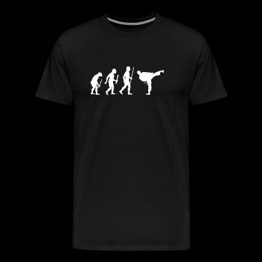 Karate - Evolution of Karate - Men's Premium T-Shirt
