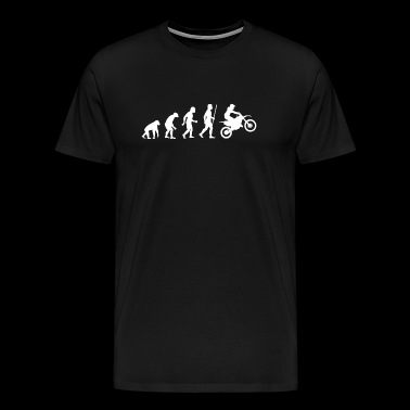 Dirtbike - Evolution Dirtbikes - Men's Premium T-Shirt