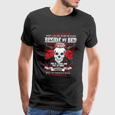 Gun - BESIDE MY BED - Men's Premium T-Shirt