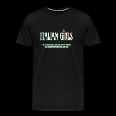 Italian - Italian - Italian Girls - Men's Premium T-Shirt