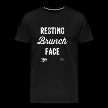 Brunch - Resting Brunch Face - Men's Premium T-Shirt