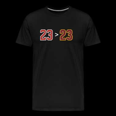 Michael jordan - Jordan over James - 23 - Men's Premium T-Shirt