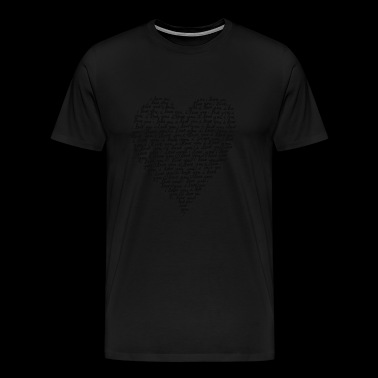 LOVE - I LOVE YOU - Men's Premium T-Shirt