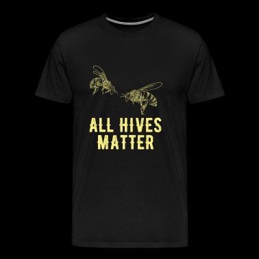 Beekeeping - All Hives Matter - Beekeeping - Men's Premium T-Shirt