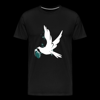 Figurative - More Bombs for Peace - Men's Premium T-Shirt