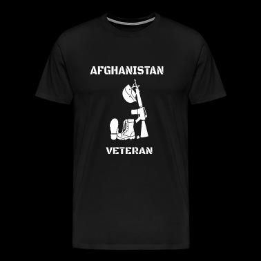 Afghanistan Veteran - Memorial Day- Afghanistan - Men's Premium T-Shirt
