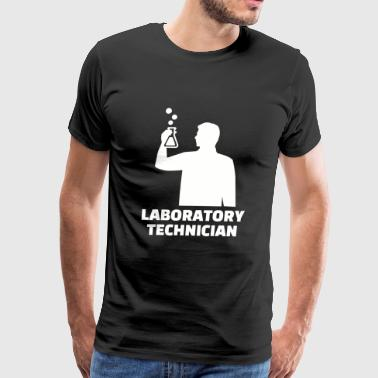 Laboratory technician - Mens Laboratory technici - Men's Premium T-Shirt