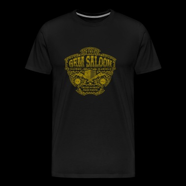 The Gem Saloon - The Gem Saloon - Men's Premium T-Shirt