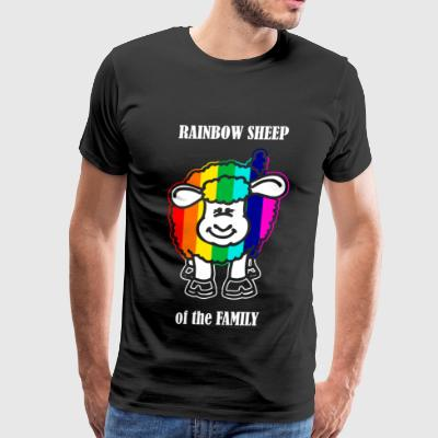 Rainbow Sheep - Rainbow Sheep of the Family - Men's Premium T-Shirt