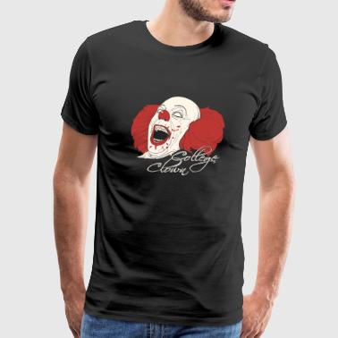 Clown - College Clowning - Men's Premium T-Shirt