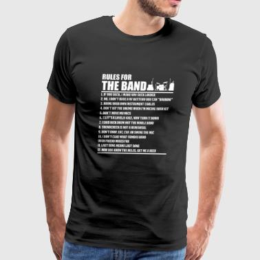 Engineer - Audio Engineer Rules For The Band For - Men's Premium T-Shirt