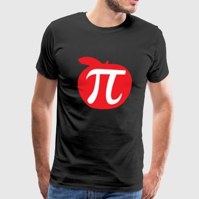 Pi - Apple Pi - Men's Premium T-Shirt