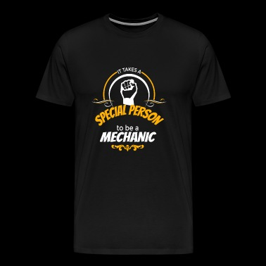 MECHANIC - IT TAKES A SPECIAL PERSON TO BE A MEC - Men's Premium T-Shirt