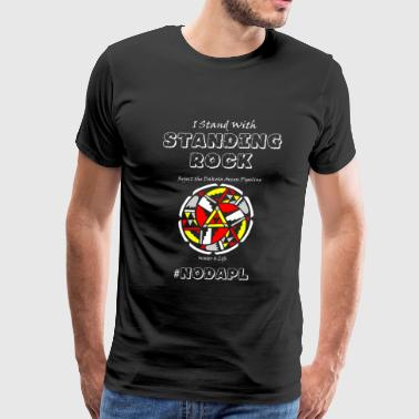 Standing rock - I Stand With Standing Rock - Men's Premium T-Shirt