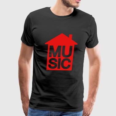 House Music - House Music - Men's Premium T-Shirt