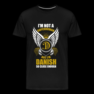 Danish - Danish - Danish Superhuman - Men's Premium T-Shirt