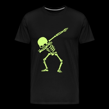 Skeleton - Dabbing Skeleton Dab Hip Hop Skull D - Men's Premium T-Shirt