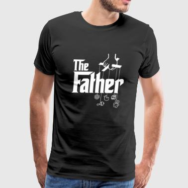Father - Mens The Father! First Time Father's Da - Men's Premium T-Shirt