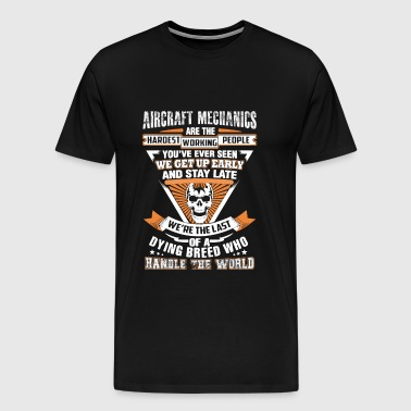 Aircraft mechanics - The last of a dying breed - Men's Premium T-Shirt