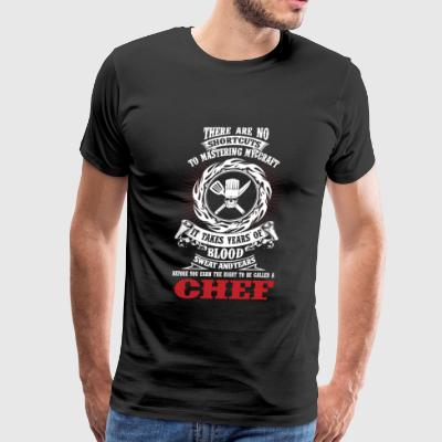 Chef - It takes years of blood sweat and tears - Men's Premium T-Shirt