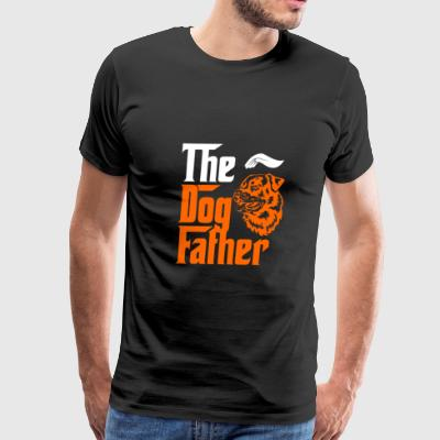 Dog lover T - shirt - The Dog Father - Men's Premium T-Shirt