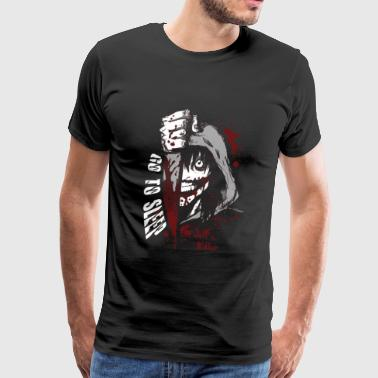 Jeff the killer - Go to sleep horror T - shirt - Men's Premium T-Shirt