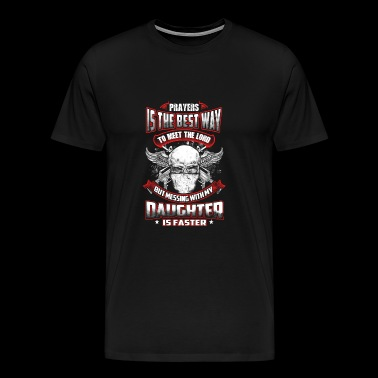 Daughter - Don't mess with my daughter t-shirt - Men's Premium T-Shirt