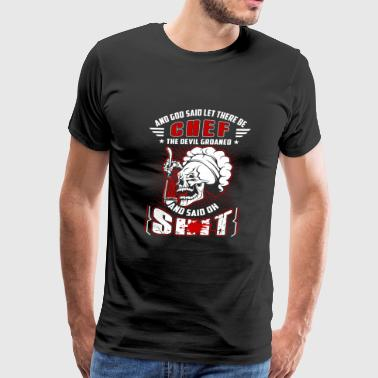 Chef - the devil groaned and said oh shit - Men's Premium T-Shirt