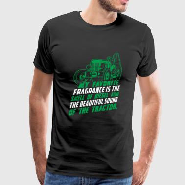 Tractor - my favorite fragrance is the sound of - Men's Premium T-Shirt