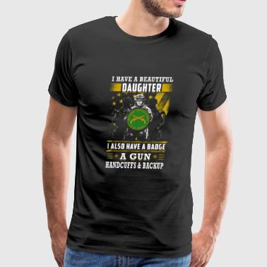 Military police - i have a beautiful daughter i - Men's Premium T-Shirt