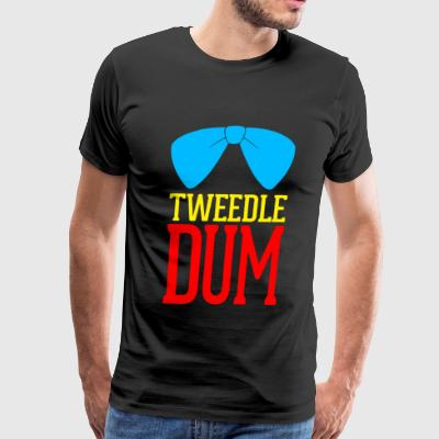 Tweedledum - Tweedle Dum - Men's Premium T-Shirt