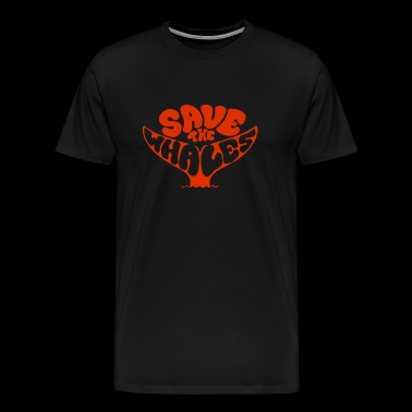 Whale - Save the Whales - Men's Premium T-Shirt