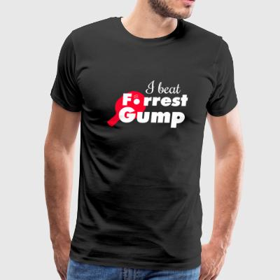 Tabletennis - I beat Forrest Gump! - Men's Premium T-Shirt