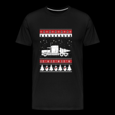 Trucker - Awesome christmas sweater for trucker - Men's Premium T-Shirt