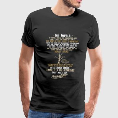 Supernatural - It's the blemishes make her beaut - Men's Premium T-Shirt