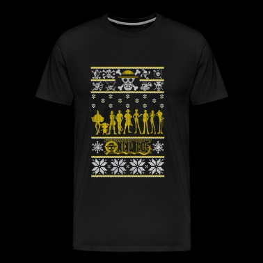One Piece - Ugly Christmas Sweater - Men's Premium T-Shirt