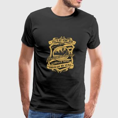 Braunschweig Germany forever runs through my vei - Men's Premium T-Shirt