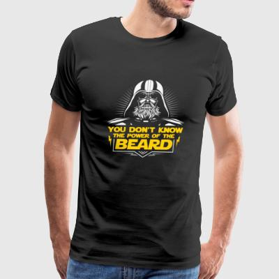 Beard - You don't know the power of the beard - Men's Premium T-Shirt