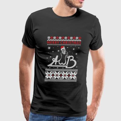 Average White Band - Ugly Christmas Sweater - Men's Premium T-Shirt