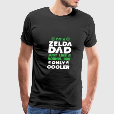 Zelda - I'am a zelda dad just like a normal dad - Men's Premium T-Shirt
