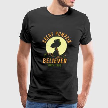 Great pumpkin - Believer since 1966 - Snoopy - Men's Premium T-Shirt