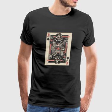 Star wars poker cards lover - Men's Premium T-Shirt