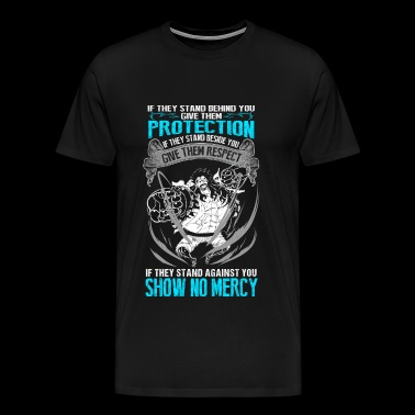 One piece - Give them respect if they're beside - Men's Premium T-Shirt