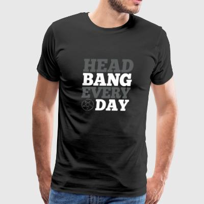 Supernatural - Head bang every day t-shirt - Men's Premium T-Shirt