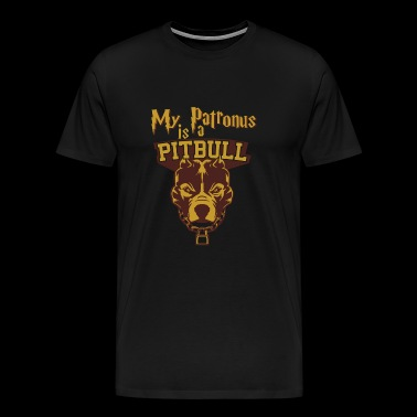 Pitbull - Pitbull - my patronus is a pitbull - Men's Premium T-Shirt