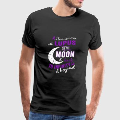 Lupus - To the moon & back to infinity & beyond - Men's Premium T-Shirt