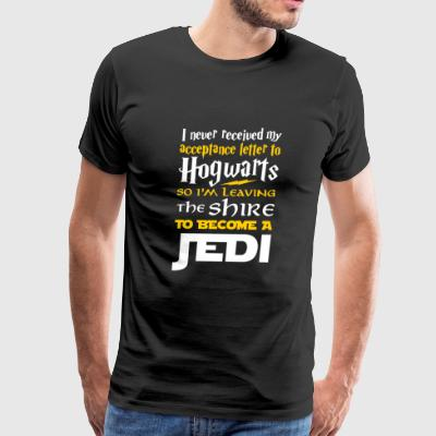 Jedi - I'm leaving the shire to become a jedi te - Men's Premium T-Shirt