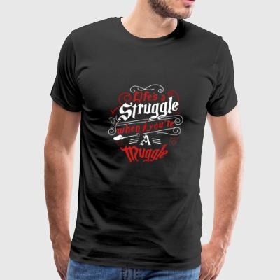 Harry potter - Life's struggle when you're muggl - Men's Premium T-Shirt
